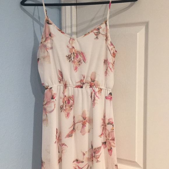 Cotton on sheer maxi dress